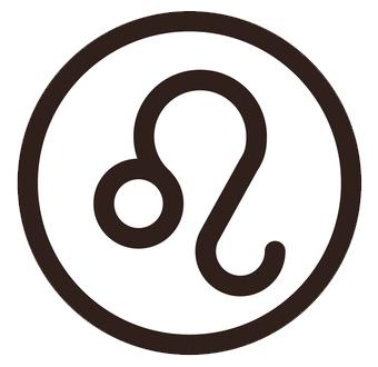 獅子座(ししざ)のシンボルマーク