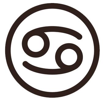 蟹座(かにざ)のシンボルマーク